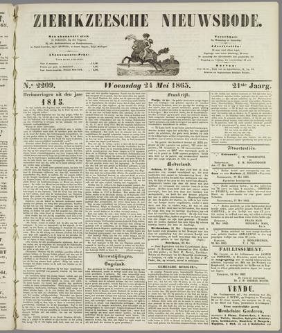 Zierikzeesche Nieuwsbode 1865-05-24