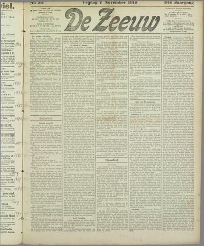 De Zeeuw. Christelijk-historisch nieuwsblad voor Zeeland 1919-11-07