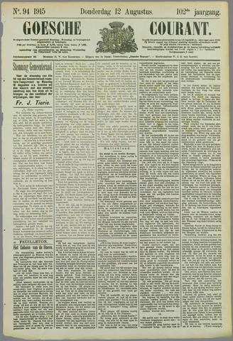 Goessche Courant 1915-08-12