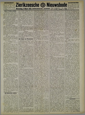 Zierikzeesche Nieuwsbode 1921-03-02