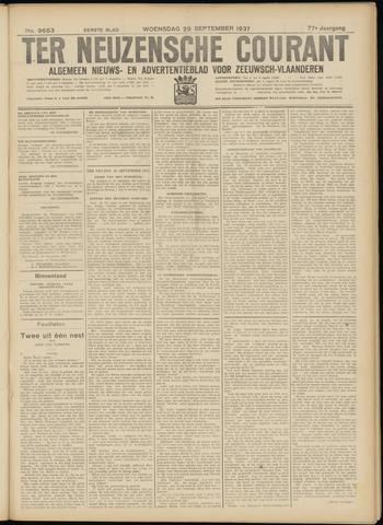 Ter Neuzensche Courant. Algemeen Nieuws- en Advertentieblad voor Zeeuwsch-Vlaanderen / Neuzensche Courant ... (idem) / (Algemeen) nieuws en advertentieblad voor Zeeuwsch-Vlaanderen 1937-09-29