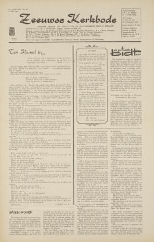 Zeeuwsche kerkbode, weekblad gewijd aan de belangen der gereformeerde kerken/ Zeeuwsch kerkblad 1968-05-23