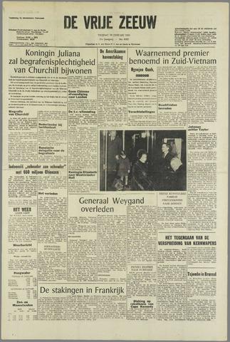 de Vrije Zeeuw 1965-01-29