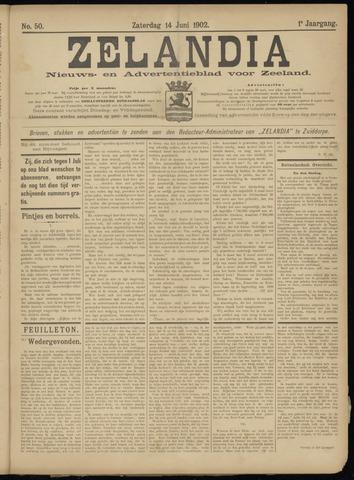Zelandia. Nieuws-en advertentieblad voor Zeeland | edities: Het Land van Hulst en De Vier Ambachten 1902-06-14