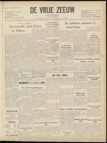 de Vrije Zeeuw 1954-06-12