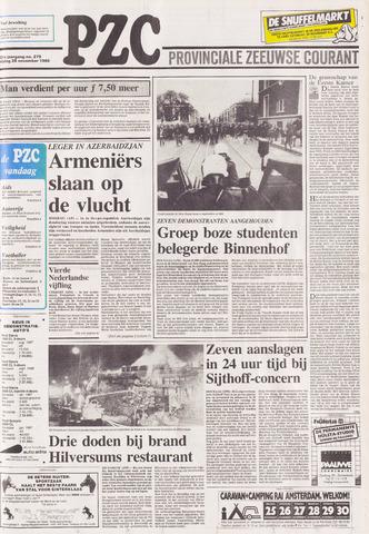 Provinciale Zeeuwse Courant 1988-11-25
