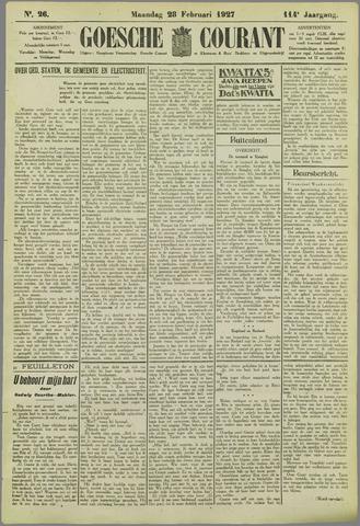 Goessche Courant 1927-02-28