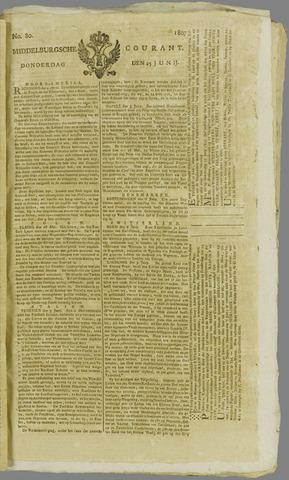 Middelburgsche Courant 1807-06-25
