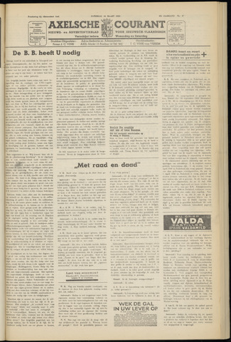 Axelsche Courant 1953-03-14