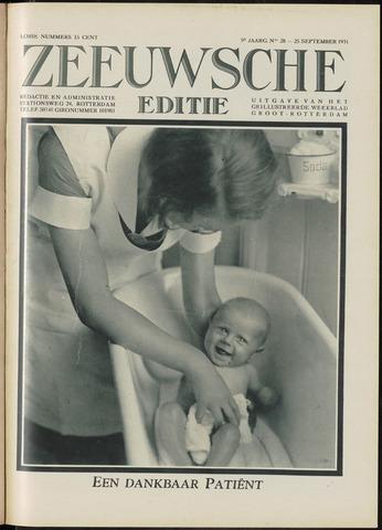 Ons Zeeland / Zeeuwsche editie 1931-09-25