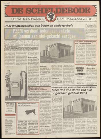 Scheldebode 1985-03-07