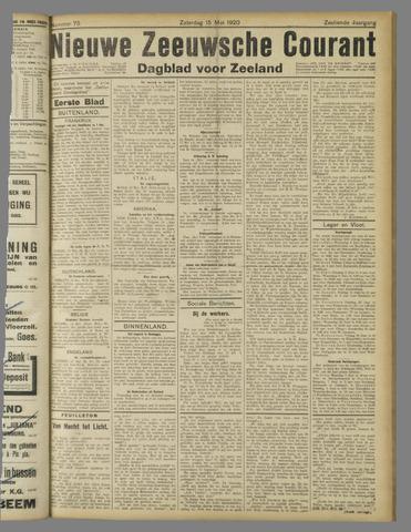 Nieuwe Zeeuwsche Courant 1920-05-15
