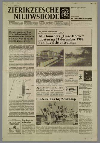 Zierikzeesche Nieuwsbode 1983-08-05
