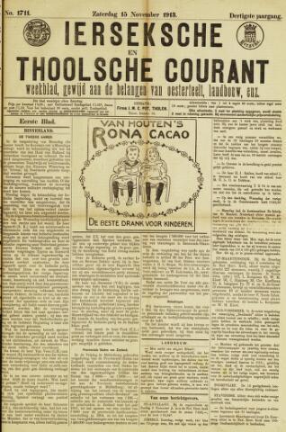Ierseksche en Thoolsche Courant 1913-11-15