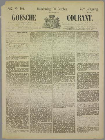 Goessche Courant 1887-10-20