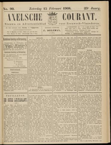 Axelsche Courant 1908-02-15