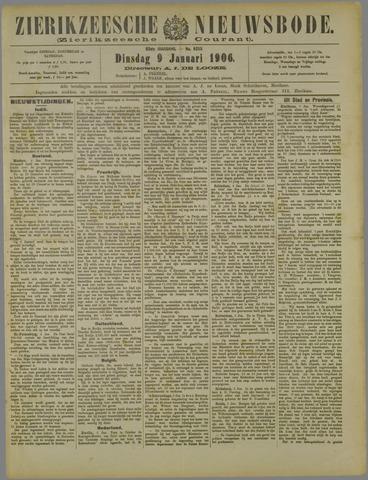 Zierikzeesche Nieuwsbode 1906-01-09