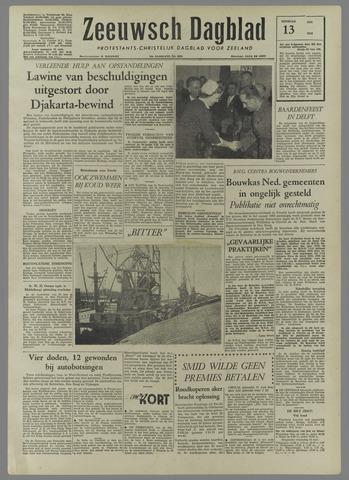 Zeeuwsch Dagblad 1958-05-13
