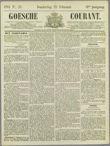 Goessche Courant 1894-02-22