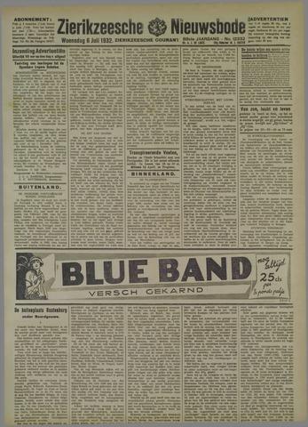 Zierikzeesche Nieuwsbode 1932-07-06