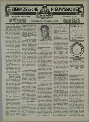 Zierikzeesche Nieuwsbode 1937-06-23