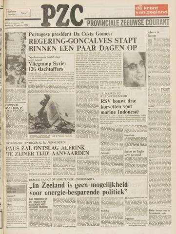 Provinciale Zeeuwse Courant 1975-08-21