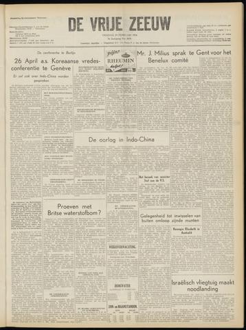 de Vrije Zeeuw 1954-02-19