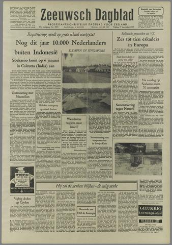 Zeeuwsch Dagblad 1957-12-27