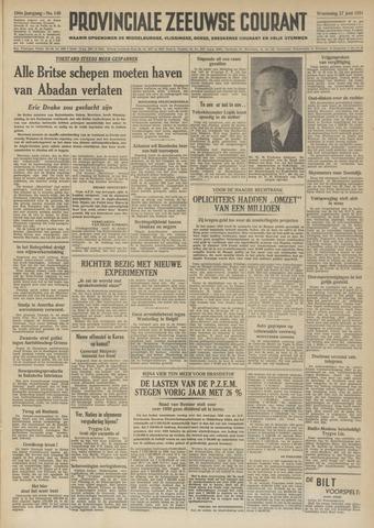 Provinciale Zeeuwse Courant 1951-06-27