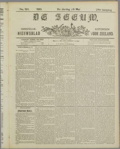 De Zeeuw. Christelijk-historisch nieuwsblad voor Zeeland 1910-05-26