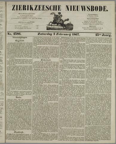 Zierikzeesche Nieuwsbode 1867-02-02