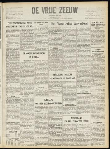 de Vrije Zeeuw 1951-07-27