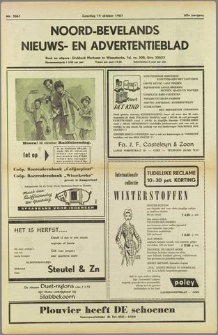 Noord-Bevelands Nieuws- en advertentieblad 1961-10-14