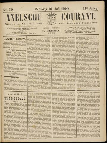 Axelsche Courant 1900-07-21
