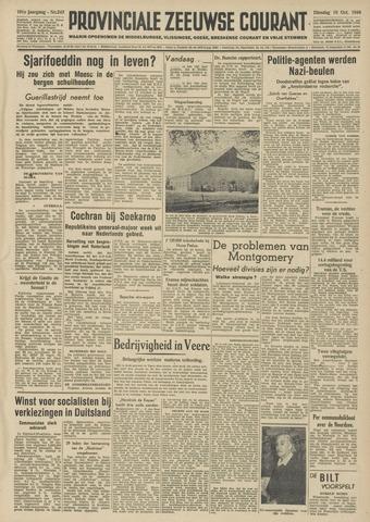 Provinciale Zeeuwse Courant 1948-10-19