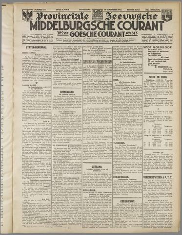 Middelburgsche Courant 1933-09-14