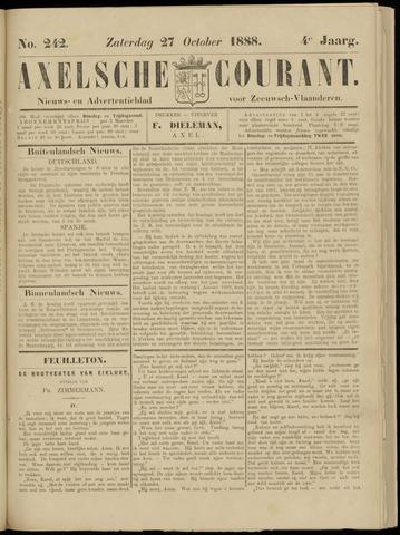 Axelsche Courant 1888-10-27
