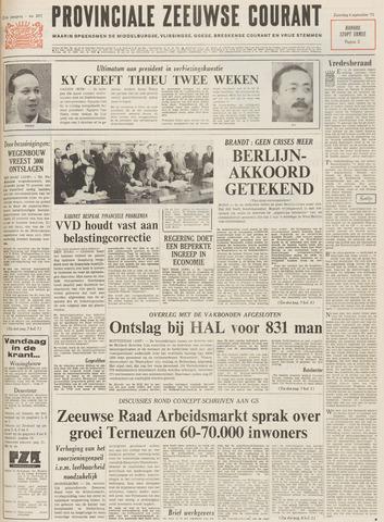 Provinciale Zeeuwse Courant 1971-09-04
