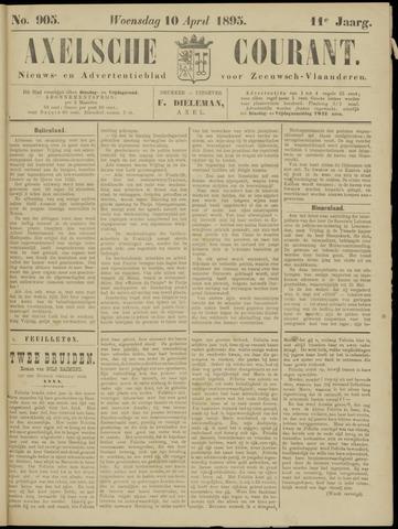 Axelsche Courant 1895-04-10