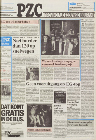 Provinciale Zeeuwse Courant 1987-12-05