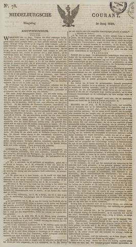 Middelburgsche Courant 1829-06-30