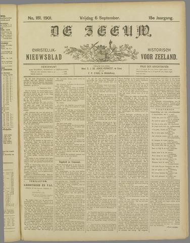De Zeeuw. Christelijk-historisch nieuwsblad voor Zeeland 1901-09-06