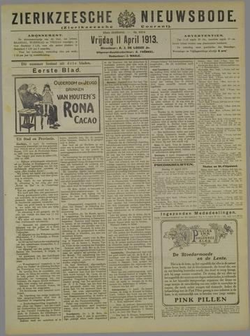 Zierikzeesche Nieuwsbode 1913-04-11