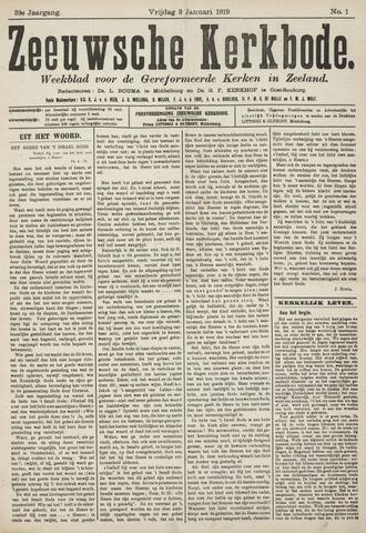 Zeeuwsche kerkbode, weekblad gewijd aan de belangen der gereformeerde kerken/ Zeeuwsch kerkblad 1919