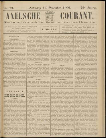 Axelsche Courant 1906-12-15