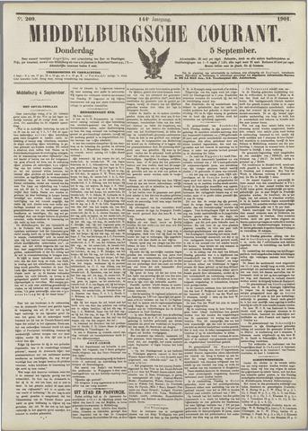 Middelburgsche Courant 1901-09-05