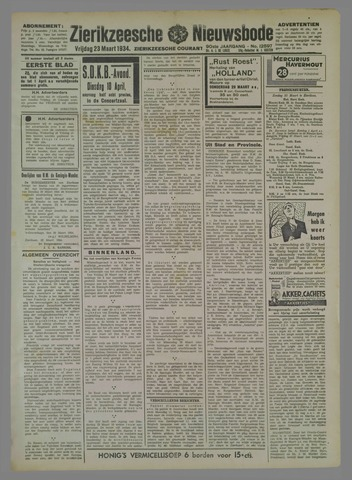 Zierikzeesche Nieuwsbode 1934-03-23