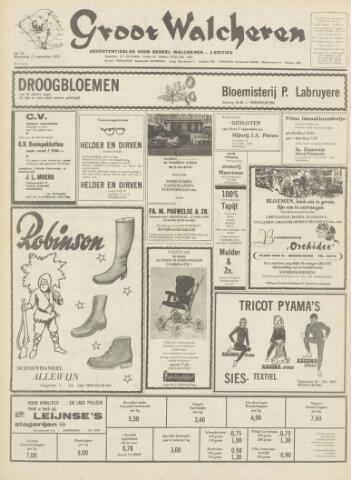 Groot Walcheren 1971-09-09