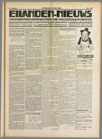 Eilanden-nieuws. Christelijk streekblad op gereformeerde grondslag 1936-06-13