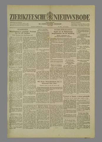 Zierikzeesche Nieuwsbode 1952-02-04
